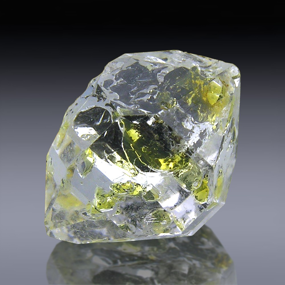 10.0cts Grade A Herkimer Diamond Quartz Crystal 16mm x 11mm-1056A035-375