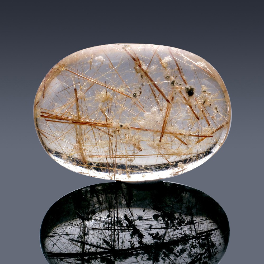 63.57ct Rutilated Quartz Crystal 35mm x 26mm x 9mm-10A-30