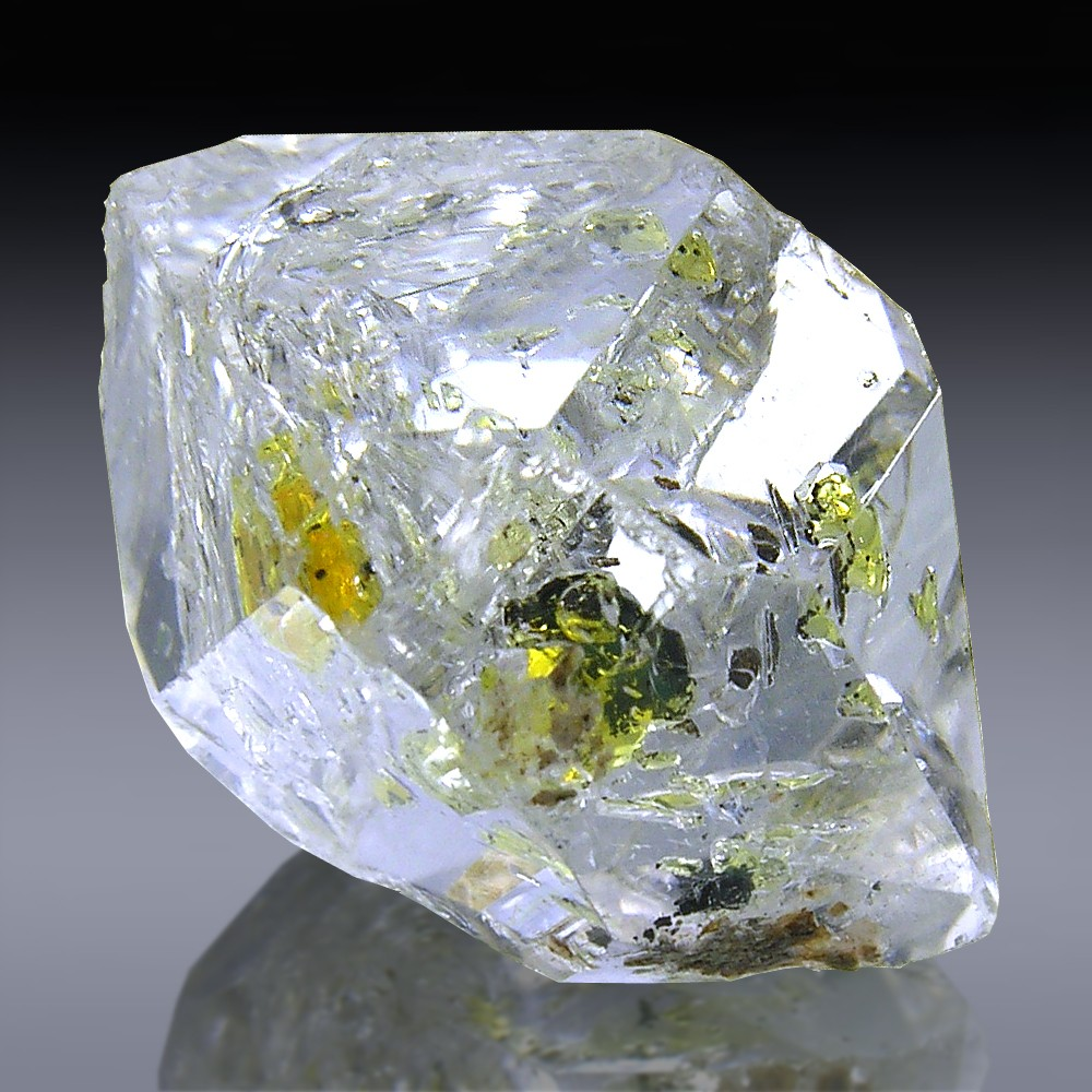 ace mine selections of county dowell var herkimer from diamonds collection quartz diamond new tourmaline cluster and