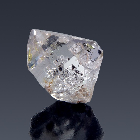 19.37ct Herkimer Diamond Quartz Crystal 20mm x 15mm-217B122-B-30