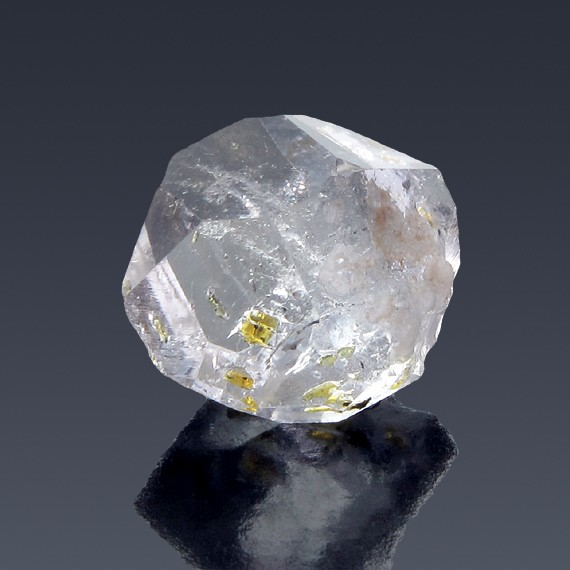21.13ct Herkimer Diamond Quartz Crystal 19mm x 17mm-217B126-B-30