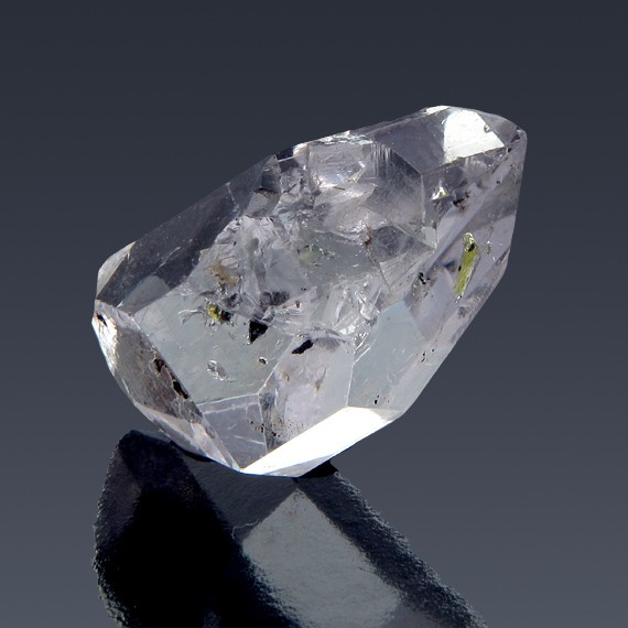 13.62ct Herkimer Diamond Quartz Crystal 20mm x 11mm-217B139-B-30