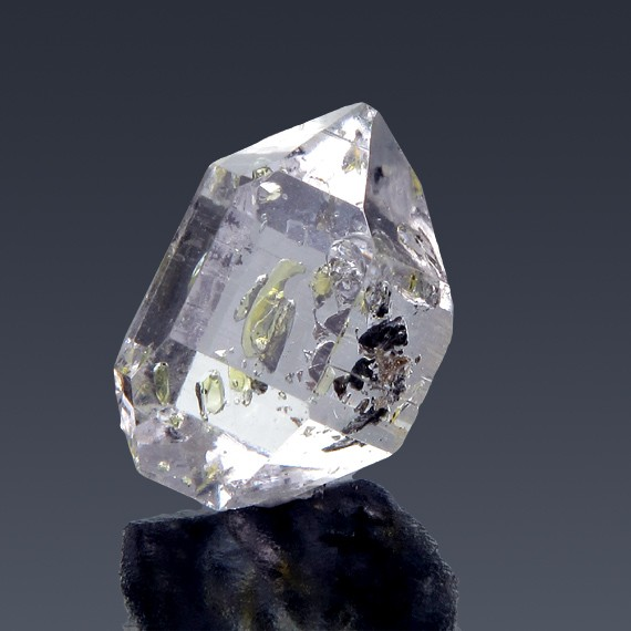13.82ct Herkimer Diamond Quartz Crystal 19mm x 12mm-217B169-B-30