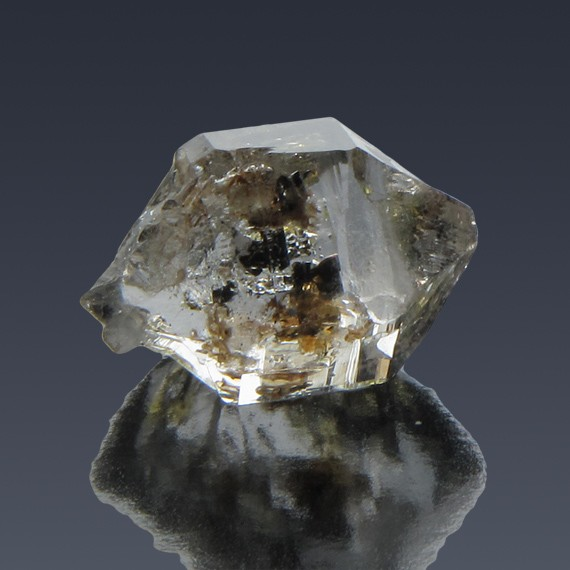 18.82ct Herkimer Diamond Quartz Crystal 20mm x 13mm-217C285-B-30