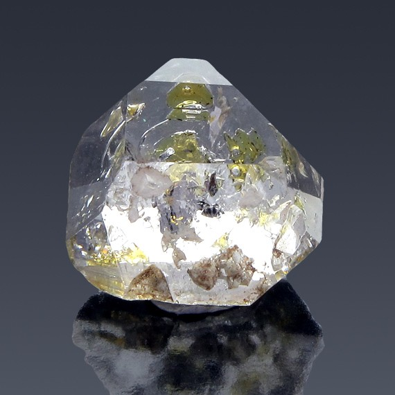 25.48ct Herkimer Diamond Tabby Crystal 20mm x 20mm-217C319-B-30