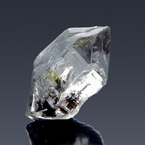 16.67ct Herkimer Diamond Quartz Crystal 21mm x 13mm-217C339-B-30