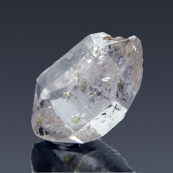 17.73ct Herkimer Diamond Quartz Crystal 21mm x 13mm-217C361-B-30