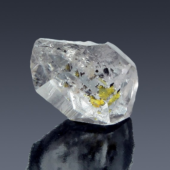 17.41ct Herkimer Diamond Quartz Crystal 21mm x 14mm-217C394-B-30