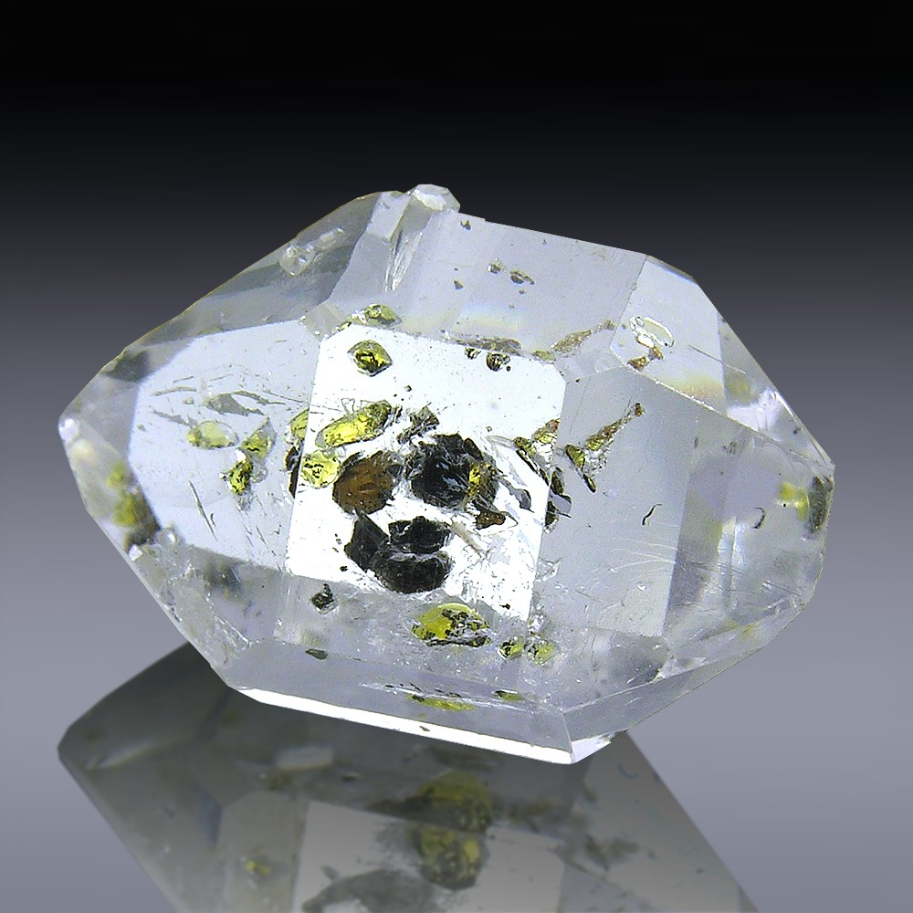 crystal gem sale diamond for new dubl york herkimer quartz sharp terminated