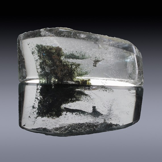45.13ct Chlorite Quartz Crystal 37mm x 17mm x 8mm-45.13ct-30