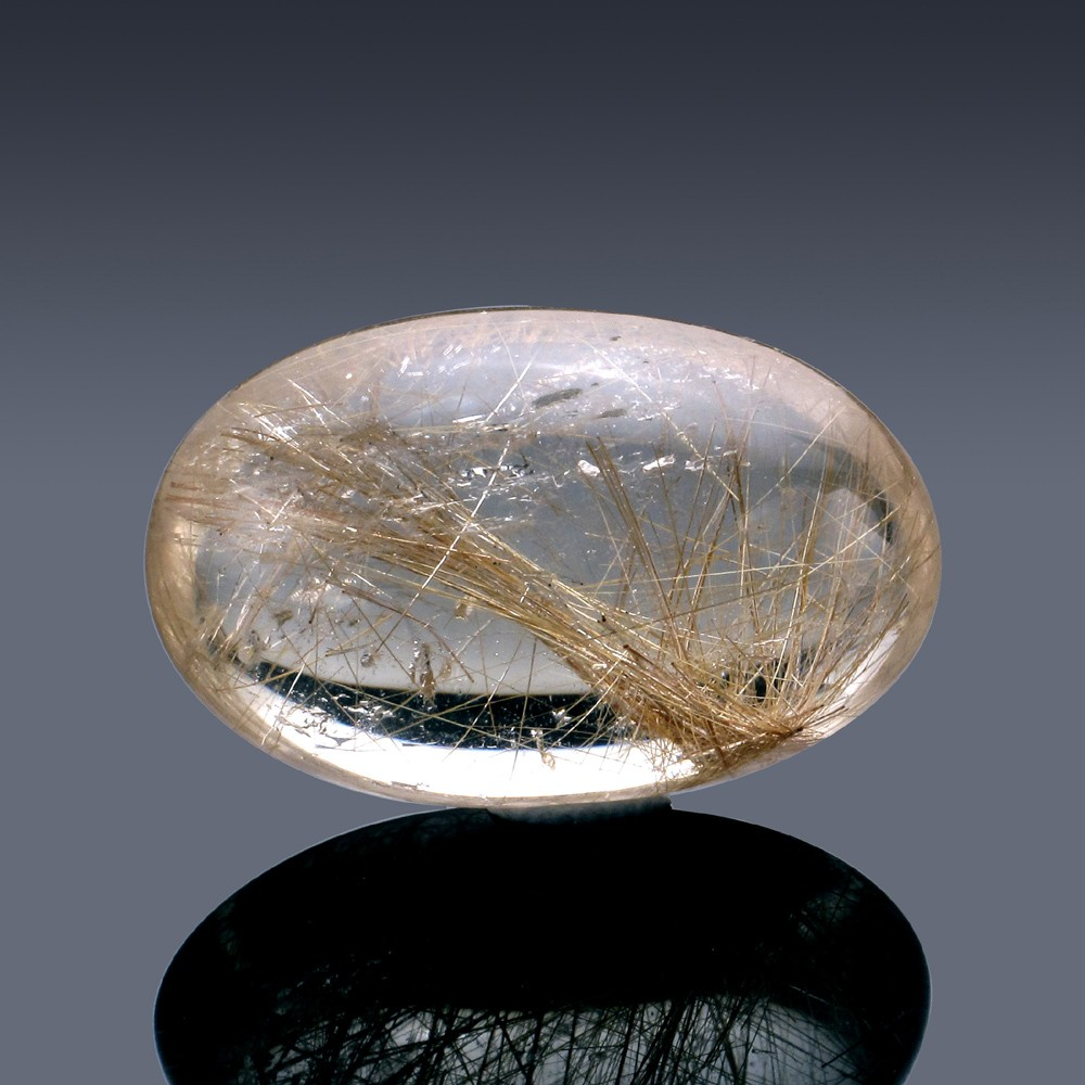 58.31ct Rutilated Quartz Crystal 32mm x 20mm x 13mm-52A-30
