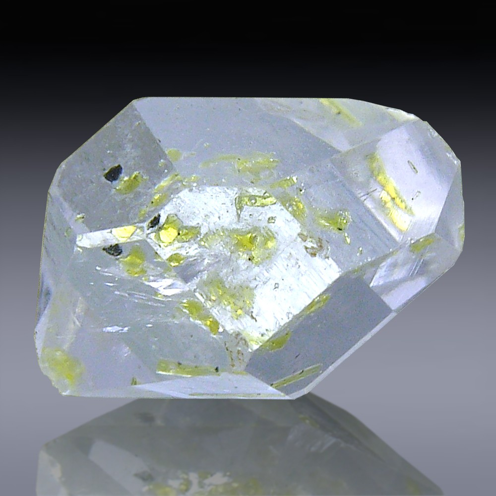 8.91ct Herkimer Diamond Quartz Crystal 16mm x 11mm-554A024-337