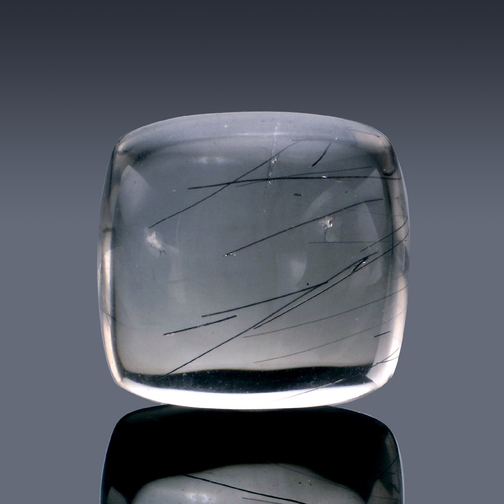 50.32ct Rutilated Quartz Crystal 24mm x 23mm x 11.5mm-63A-30