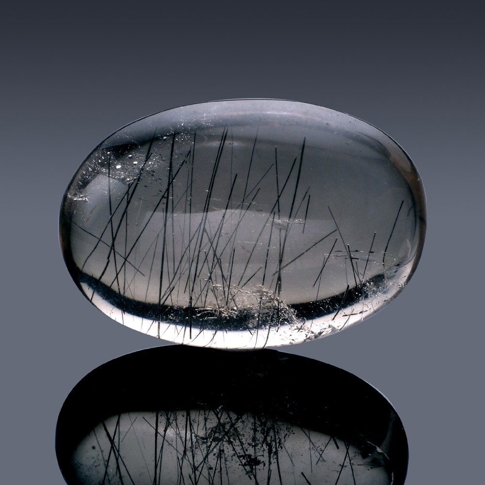 76ct Rutilated Quartz Crystal 35mm x 24mm x 12mm-67A-30