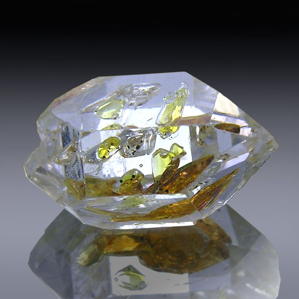 6.46ct Herkimer Diamond Quartz Crystal 14mm x 9mm-954A099-374