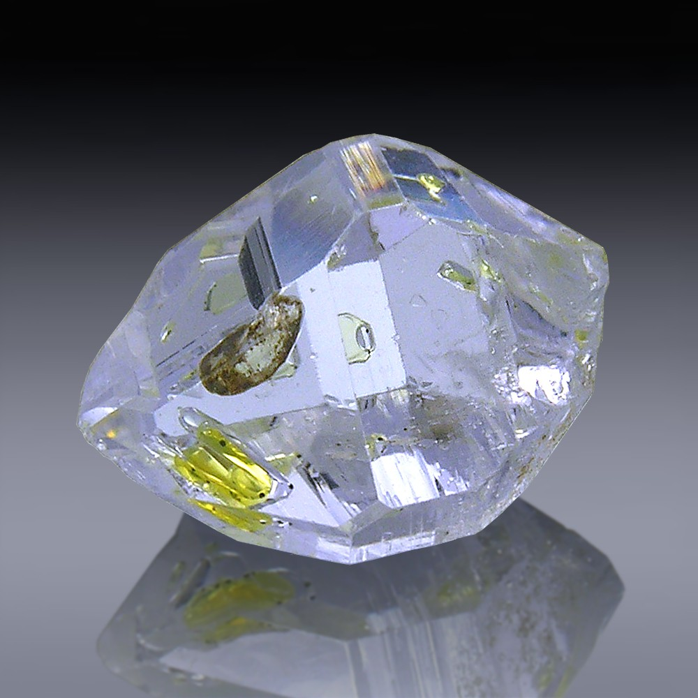 5.77ct Herkimer Diamond Quartz Crystal 13mm x 9mm-954A185-3120
