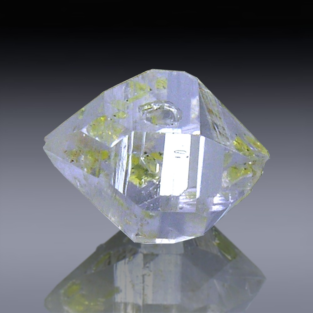 3.79ct Herkimer Diamond Quartz Crystal 11mm x 8mm-954A188-3105
