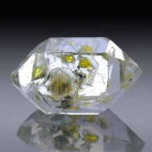 16.92cts Museum Grade Herkimer Diamond Quartz Crystal 22mm x 11mm-1819A017-20