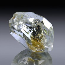 16.37cts Museum Grade Herkimer Diamond Quartz Crystal 19mm x 13mm-1819A021-20