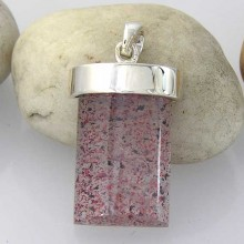 Strawberry Quartz Pendant