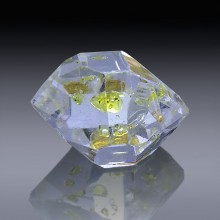 6.30ct Herkimer Diamond Quartz Crystal 13mm x 10mm-954A101-20