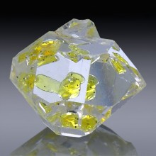 4.69ct Herkimer Diamond Quartz Crystal 12mm x 9mm-954A104-20