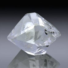 3.91ct Herkimer Diamond Quartz Crystal 11mm x 9mm-954A108-20
