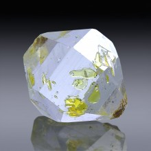 6.34ct Herkimer Diamond Quartz Crystal 13mm x 12mm-954A166-20