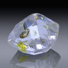 5.77ct Herkimer Diamond Quartz Crystal 13mm x 9mm-954A185-20