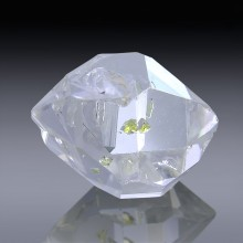 6.95ct Herkimer Diamond Quartz Crystal 13mm x 10mm-954A192-20