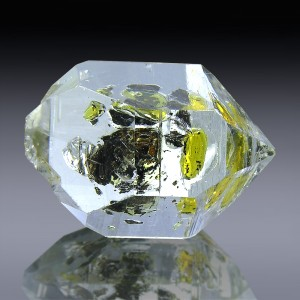 24.85cts Museum Grade AA Herkimer Diamond Quartz Crystal 22mm x 16mm
