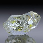 34.7cts Museum Grade Twin Herkimer Diamond Quartz Crystal 29mm x 17mm